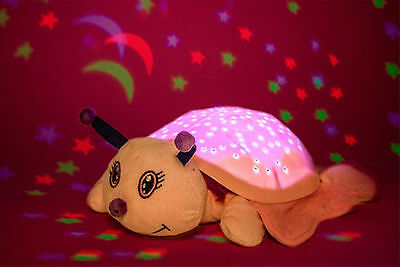 Kids Butterfly Soft Pillow Pet Night Light, Colour Changing, Battery Operated
