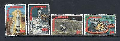 Antigua & Barbuda Mnh 1989 Sg1346-1349 20Th Of First Manned Landing On The Moon