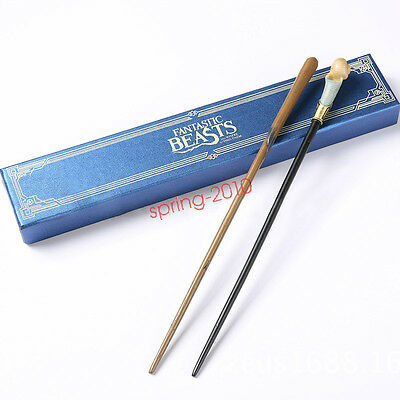 Fantastic Beasts and Where to Find Them Newt Scamander Queenie Magic Wand Cospla