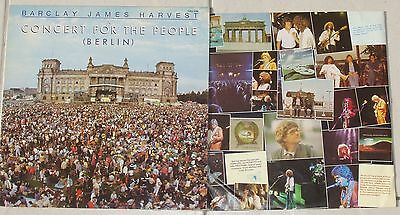 BARCLAY JAMES HARVEST Title:   Concert for the people