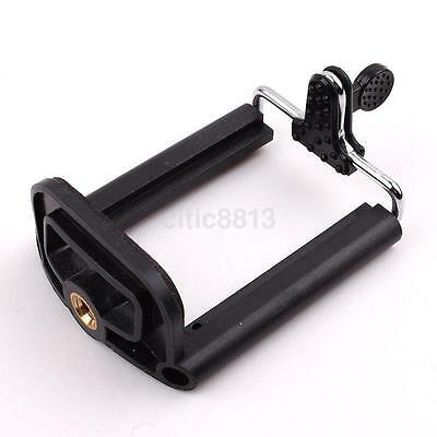 Adjustable Cell Phone Clip Tripod Mount Adapter for Smartphone iPhone Samsung au