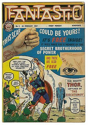 Fantastic Comic No.2 1967 With Free Gift