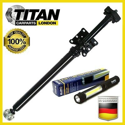 REAR PORSCHE CAYENNE S 4.5 TURBO 4.5S 3.2 3.0 TDi COMPLETE PROPSHAFT WITH LAMP