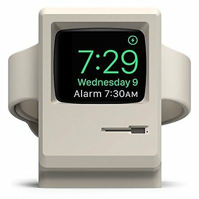 elago W3 Vintage Apple Monitor Apple Watch Stand Charging Station For Series 1,2
