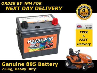 895 Small Tractor Battery 12V 30Ah - Reliable Starting Power
