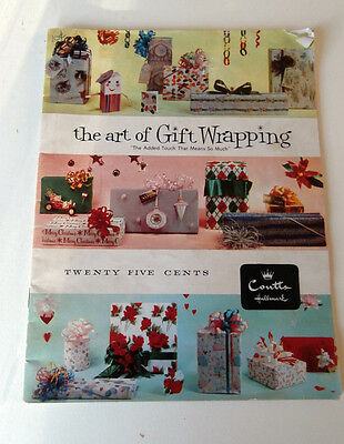 Retro 1960s Art of Gift Wrapping Hallmark - mid century wrapping concepts