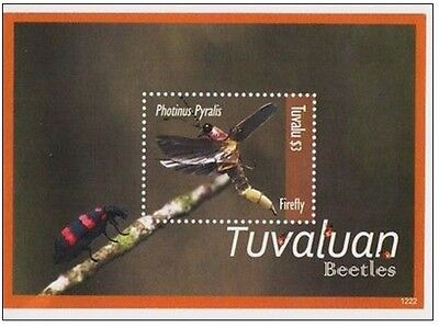 Bloc Sheet Insectes Insects  Neuf ** MNH  Tuvalu 2012