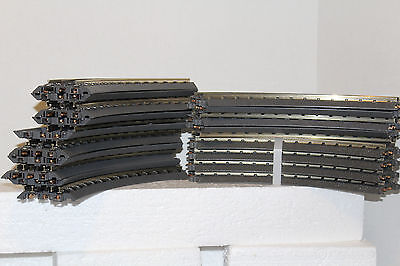 """MTH realtrax track  lot 18 pieces of """"031"""" Curve Track"""