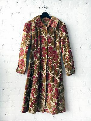 Vintage One-of-a-Kind Handmade Women's Tapestry Coat