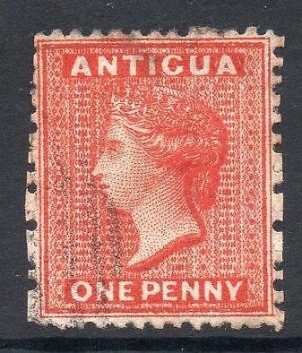 ANTIGUA 1872 SG14wi INVERTED WATERMARK