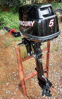 MERCURY 5HP 4 STROKE OUTBOARD ENGINE 2009, Short Shaft. Excellent condition