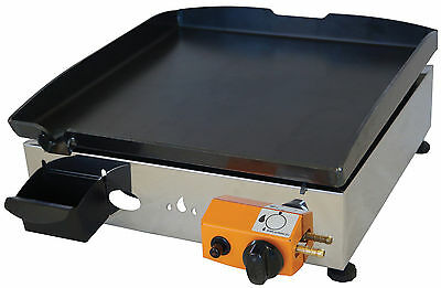 Lpg Griddle / Barbecue / Hot Plate  40 x 40 cm  (low)