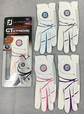 Footjoy Ladies GT Xtreme Womens Golf Glove  S M ML L - LH For RH'ed Golfers