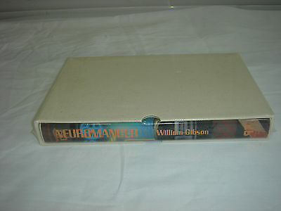 Neuromancer By William Gibson Signed Ltd Ed in Slip Case Phantasia Press 1986