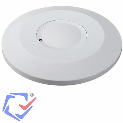 PIR Ceiling 360 Motion Detector Auto Switch Security Light Maclean MCE133