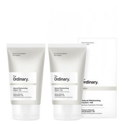 NEW The Ordinary Natural Moisturizing Factors + HA [Double Pack] 2 x 30ml Womens