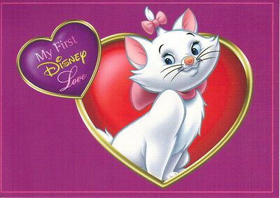 Disney Store - The Aristocats - My First Disney Love Postcard - Very Good