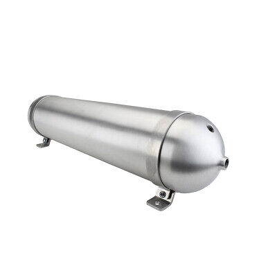 "Specialty Suspension Seamless Aluminum Air Tank 28"" Air Ride Bagged Air Horn"