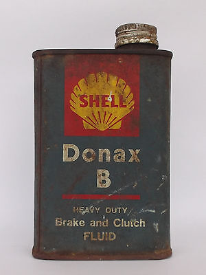 "Vintage ""shell - Donax B"" Can/tin"