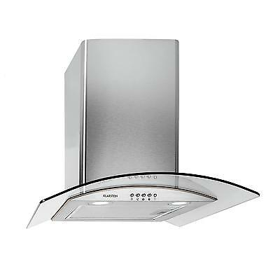 Kitchen Chimney Cooker Oven Hood 60Cm Extractor Wall Mounted Convertible Vent