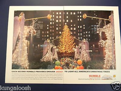 1961 Rockefeller Center Christmas Decorations Humble Ad