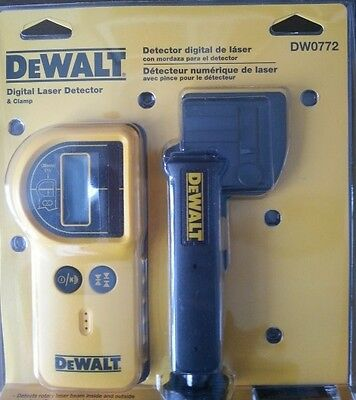 OFFICIAL DEWALT DW0772 Digital Laser Detector and Clamp