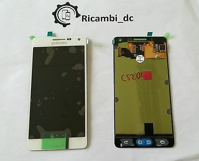 Display Lcd Touch Screen Originale Per Samsung Galaxy A5 A500F Bianco