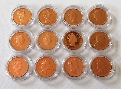 1972 - 2011 - 1p - One Pence PROOF Coins Dates from 1972 - 2011 Pick A Date