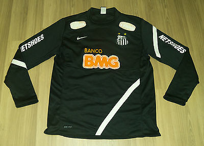 Santos FC Nike Midlayer Training Player issue RARE jacket