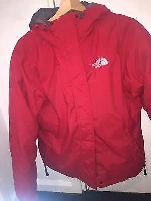 The North face Red Jacket Size M