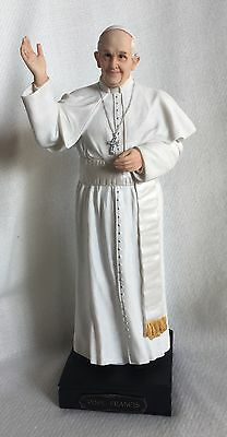 """The Pope Francis Holy Father - Exquisite 11"""" Resin Statue / Figurine"""