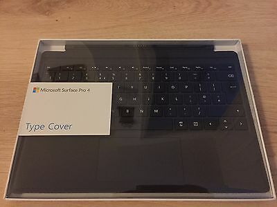 Microsoft Surface Pro 4 Keyboard Type Cover - Black New, Sealed