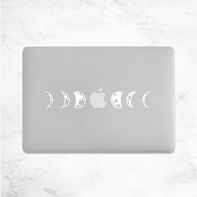 Moon Phases Sticker for Macbook Pro decal vinyl air mac 13 15 11 astrology skin