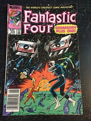 Fantastic Four#279 Awesome Condition 6.5(1985) Dr.Doom,Byrne Art!!