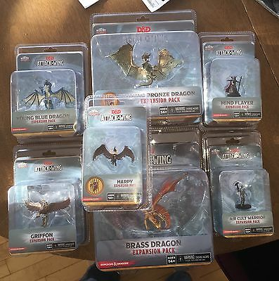 D&D ATTACK WING Lot 7 figures NEW CANADA SELLER Griffon Dungeons & Dragons