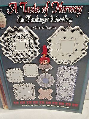 A TASTE OF NORWAY in Hardanger Embroidery Chart by Mildred Torgerson LAST CHANCE
