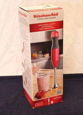 Immersion Hand Blender KitchenAid Household Appliance Cooking Chef Mixer Mash