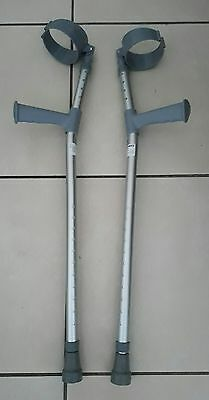 Pair of sunrise medical brand new adjustable length crutches