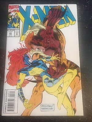 X-men#28 Incredible Condition 9.4(1994) Sabertooth ,Kubert Art!!