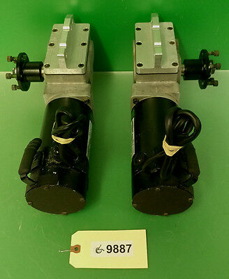 Left &  Right  4 Pole Motors & Gearboxes for Invacare TDX SP  Power Chair  #9887