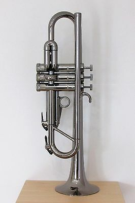 Tromba Plastic Bb Trumpet - Black Nickel ** ONLY 3 LEFT AT THIS PRICE **