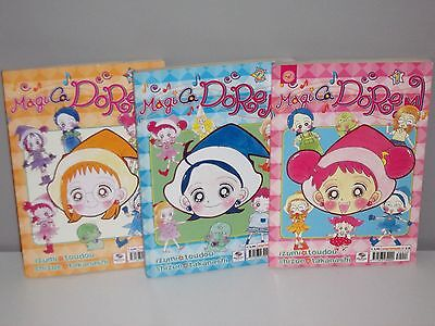 Magica Doremi Manga Collana Completo 3 Volumi (Vol.1-2-3) Play Press 2003 Rari