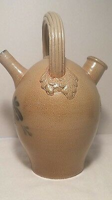 Rowe Pottery Works, Cambridge, WI 2004 Limited Edition Rare Harvest Jug