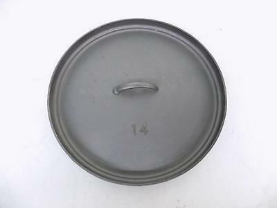 """NEW Old Stock Lodge Cast Iron 14CL2 14"""" Unseasoned Lid Satisfaction Guaranteed"""