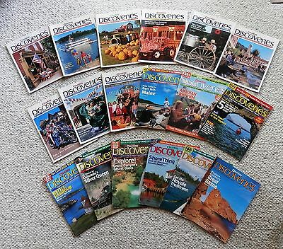 Country Discoveries Lot of 18 Magazines 2003 to 2006