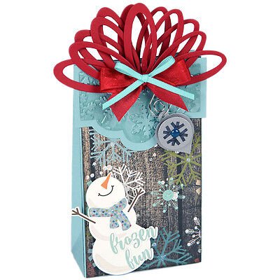 Sizzix Christmas Collection Bigz XL Die Box Wrapped With Ornaments