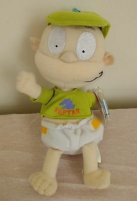 "Vintage RUGRATS Tommy Pickles Plush Soft Toy Doll 1998 Star Bean Rare 9"" Reptar"