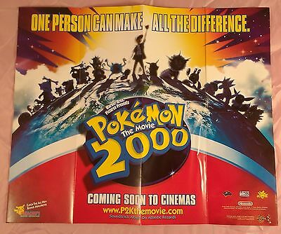 Pokémon: The Movie 2000 UK Mini Poster Original