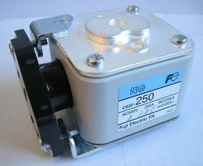 CS5F-250 - Fuji Electric Super-Rapid Fuse 500V 250A, Block