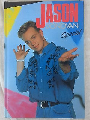 JASON DONOVAN SPECIAL 1990 Hardback annual Neighbours Kylie Minogue Unclipped